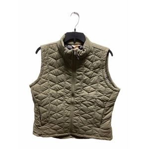 Duluth Trading Olive Green Quilted Vest
